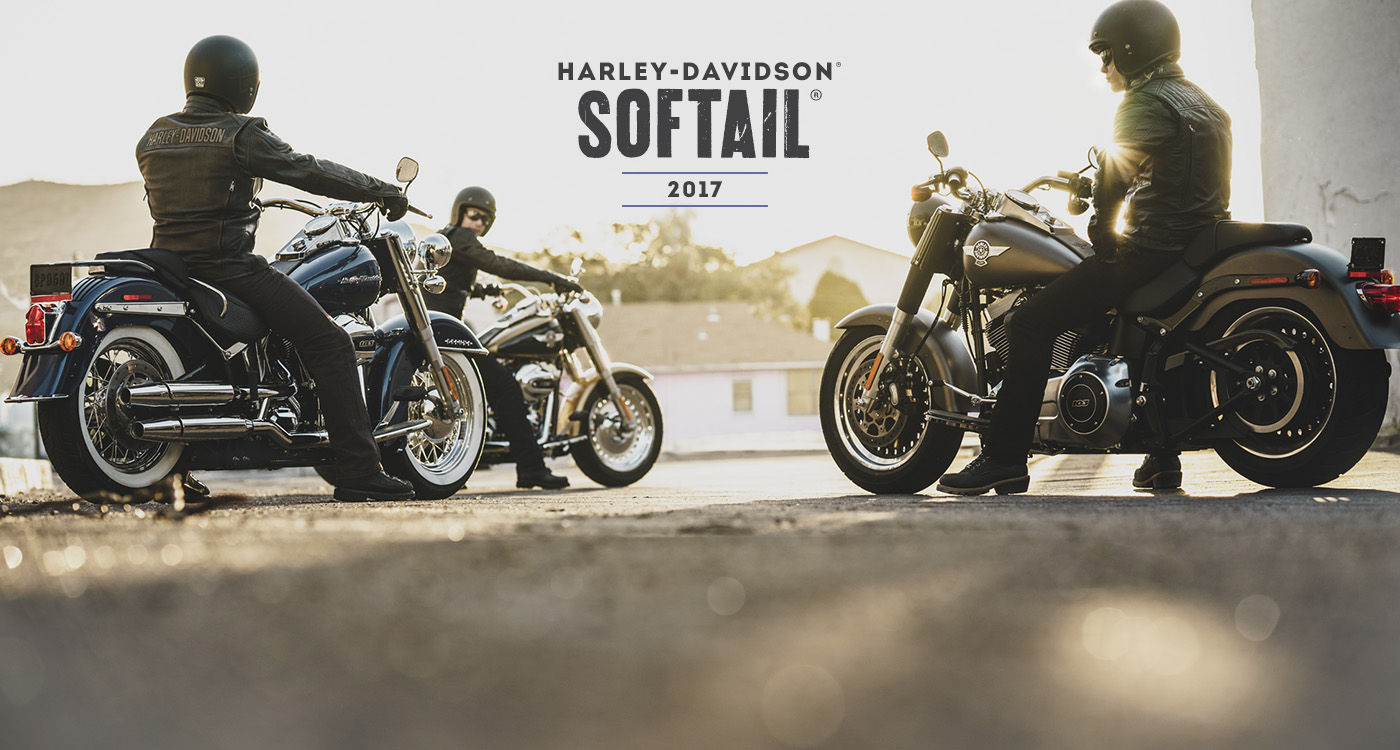 Softail<sup>®</sup> - Motos 2017