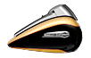 Tri Glide™ Ultra - Two-Tone Black Hills Gold / Black Quartz