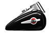 HERITAGE SOFTAIL™ CLASSIC - ビビッドブラック