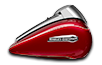 FLHTCUTG Tri Glide<sup><sup>®</sup></sup> Ultra - Two-Tone Mysterious Red Sunglo / Velocity Red Sunglo