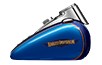 Heritage Softail<sup>®</sup> Classic - Custom Colour Bonneville Blue / Fathom Blue