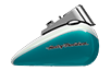 FLSTN Softail<sup><sup>®</sup></sup> Deluxe - Two-Tone Crushed Ice Pearl / Frosted Teal Pearl