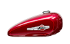 XL 1200C 1200 Custom - Velocity Red Sunglo