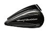 CVO™ Street Glide<sup>®</sup> - Dark Slate Candy / Arctic Black with Contrast Chrome Aggressor Wheels