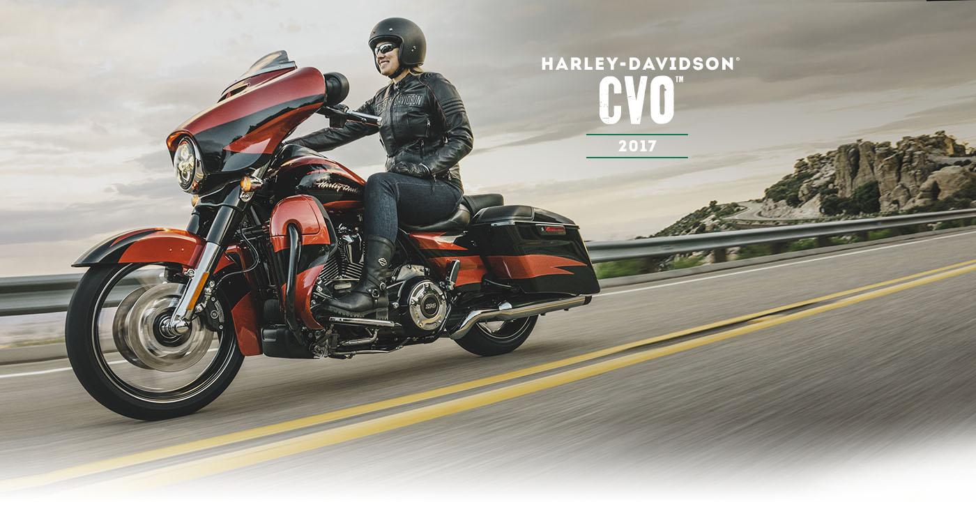 CVO™ - Motocykle 2017