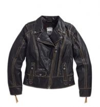 Panorama Leather Biker Jacket