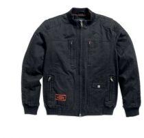 Kerosene Bomber Jacket, Black