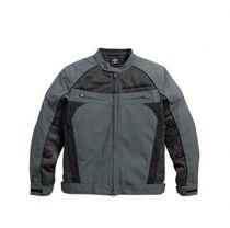 Utilitarian Textile/Mesh Riding Jacket