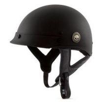 Skull Half Helmet