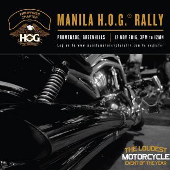 Manila H.O.G.®️ Rally  2016