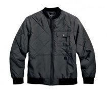 Men's Quilted Nylon Bomber Jacket