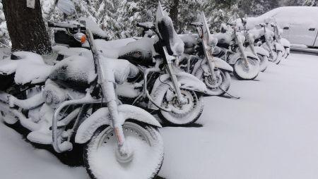 Комплексная программа зимнего хранения мотоциклов Harley-Davidson