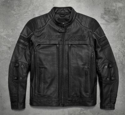 Erving Pocket System  Leather Jacket