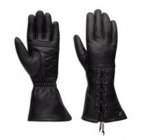 Brigid Leather Gauntlet Gloves