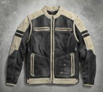Knave Textile/Leather Riding Jacket