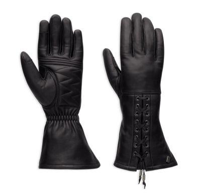 Brigid Leather Gauntlet Gloves