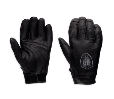 Orwell Perforated Leather Gloves