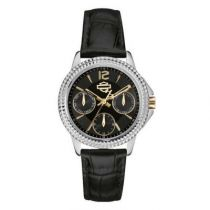 Harley-Davidson Women's Multifunction Patterned Wrist Watch.