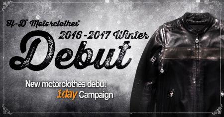 モータークローズ 2016-2017 Debut Campaign