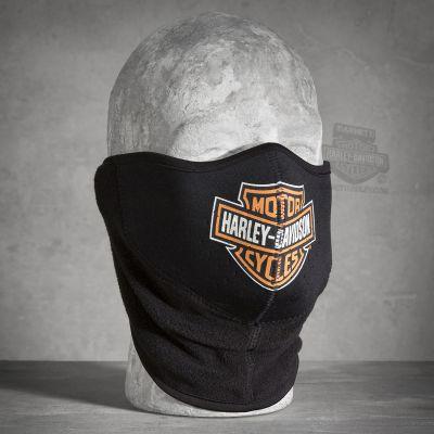 Men's Logo Fleece/Neoprene Face Mask