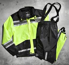 Harley-Davidson® Men's Hi-Vis Yellow Rain Suit