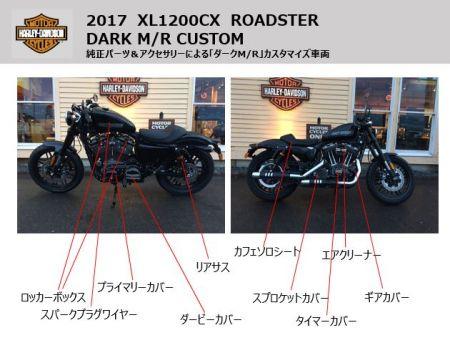 XL1200CX カスタム車両展示のお知らせ