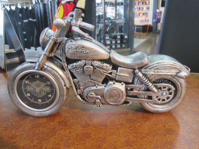 CLOCK-MOTORCYCLE