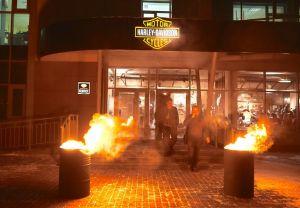Открытие Harley-Davidson Красноярск 3 декабря