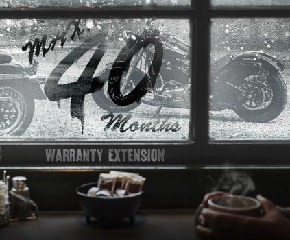 新車購入で保証期間最大40か月まで延長