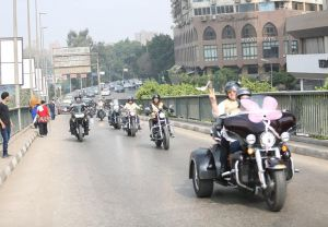 Supporting Baheya Foundation - Ladies Ride