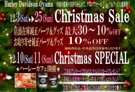 クリスマスフェア開催中!