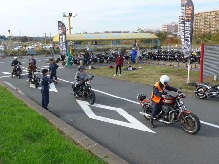 1月22日(日)コヤマドライビングスクール試乗会(ハーレー安全運転講習会)