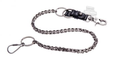 Harley-Davidson® Mens TNT Willie G Skull Medallion Wallet Chain