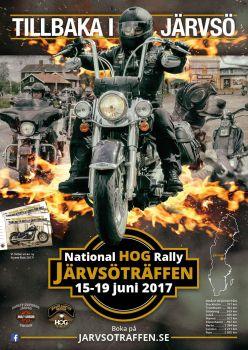 JÄRVSÖTRÄFFEN 15-19 JUNI 2017 National HOG Rally