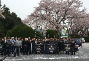 H.O.G  京都・福知山「鬼そば枝垂桜」ツーリング