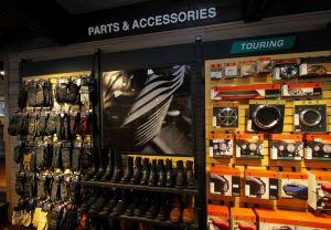 Harley-Davidson®純正カスタムパーツ・ウェア・グッズを豊富に展示