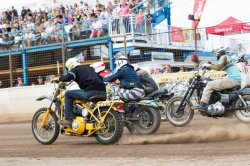 DIRT QUAKE V 2016 The fun racing event with great results for Harley-Davidson