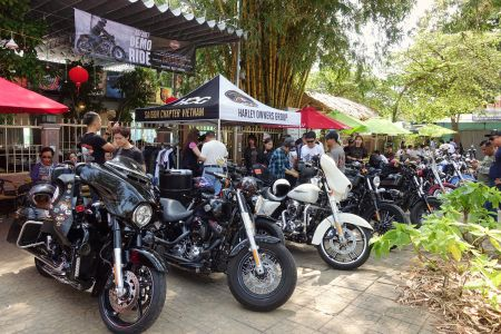 DEMO RIDE EVENT AT CAN THO 11-12 MARCH 2017