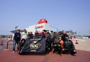 2017年3/19(日)に愛知チャプターツーリングで愛知県常滑市に行ってきました。