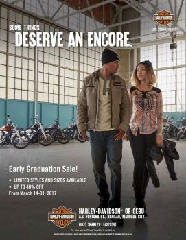 EARLY GRADUATION SALE!
