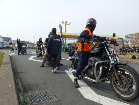 4月16日(日)コヤマドライビングスクール試乗会(ハーレー安全運転講習会)