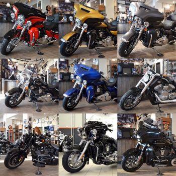Невероятный выбор мотоциклов в наличии по специальным ценам в Harley-Davidson Новосибирск!