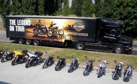 Demo Truck 2019 Harley-Davidson-Ostrava
