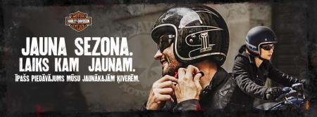 Īpašs piedāvājums jaunajām Harley-Davidson ķiverēm