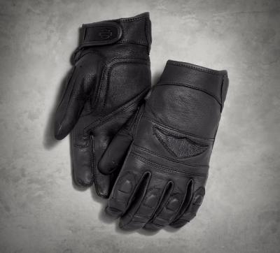 Men's Distressed Full-Finger Gloves