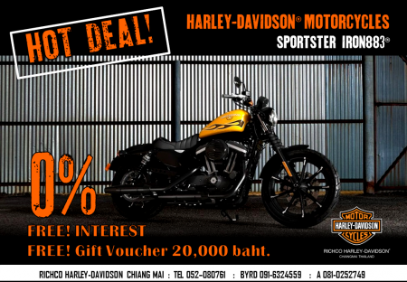 Promotion SPORTSTER IRON883®