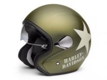 KASK 3/4 RETRO, MILITARY GREEN