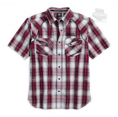 SHIRT-MODIFIED YOKE,AMERICANA,PLD