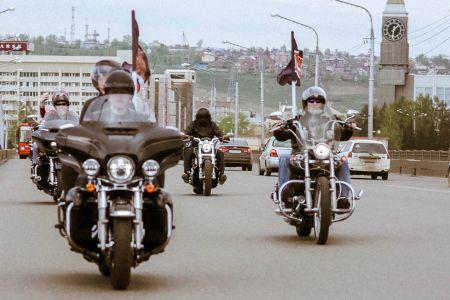 Открытие мотосезона Harley-Davidson Красноярск 2017