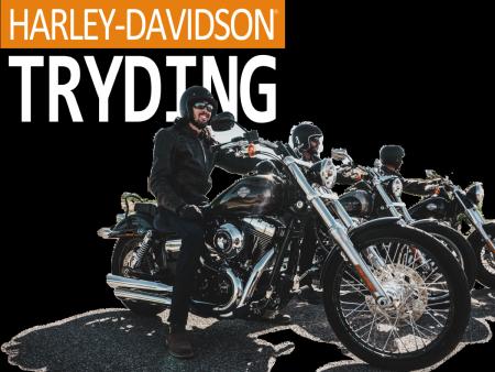 Harley-Davidson Tryding 開催